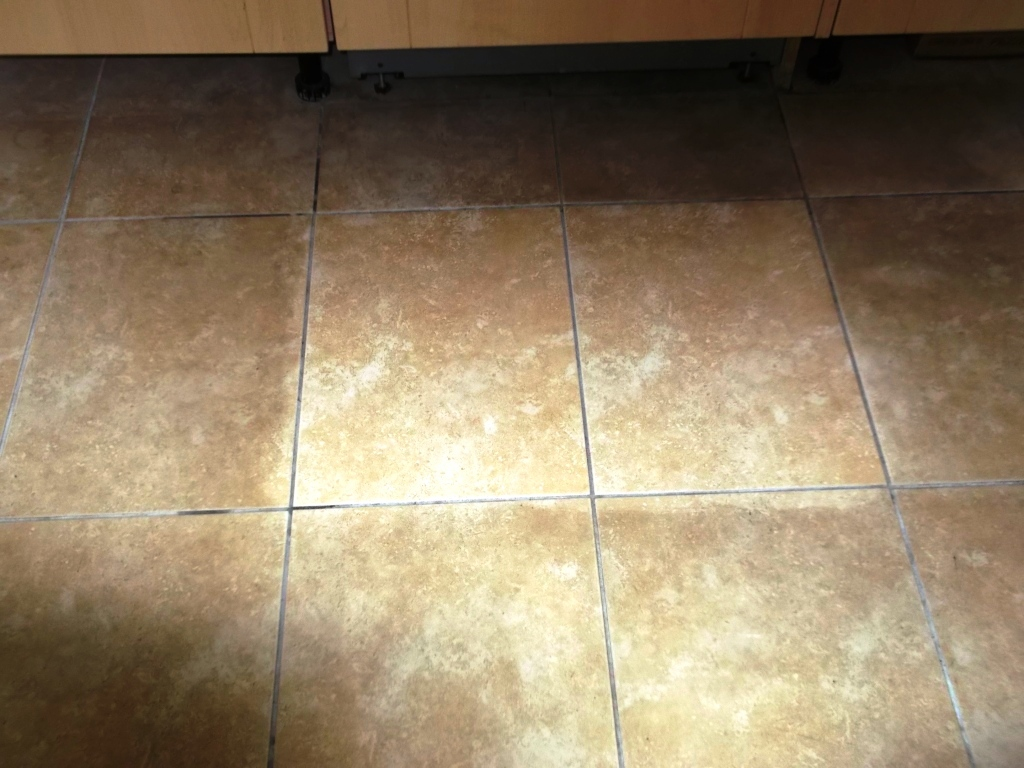 Ceramic Tiled Floor Cleaning