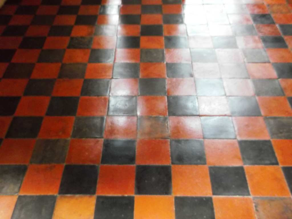 Quarry Tiled Floor After Restoration