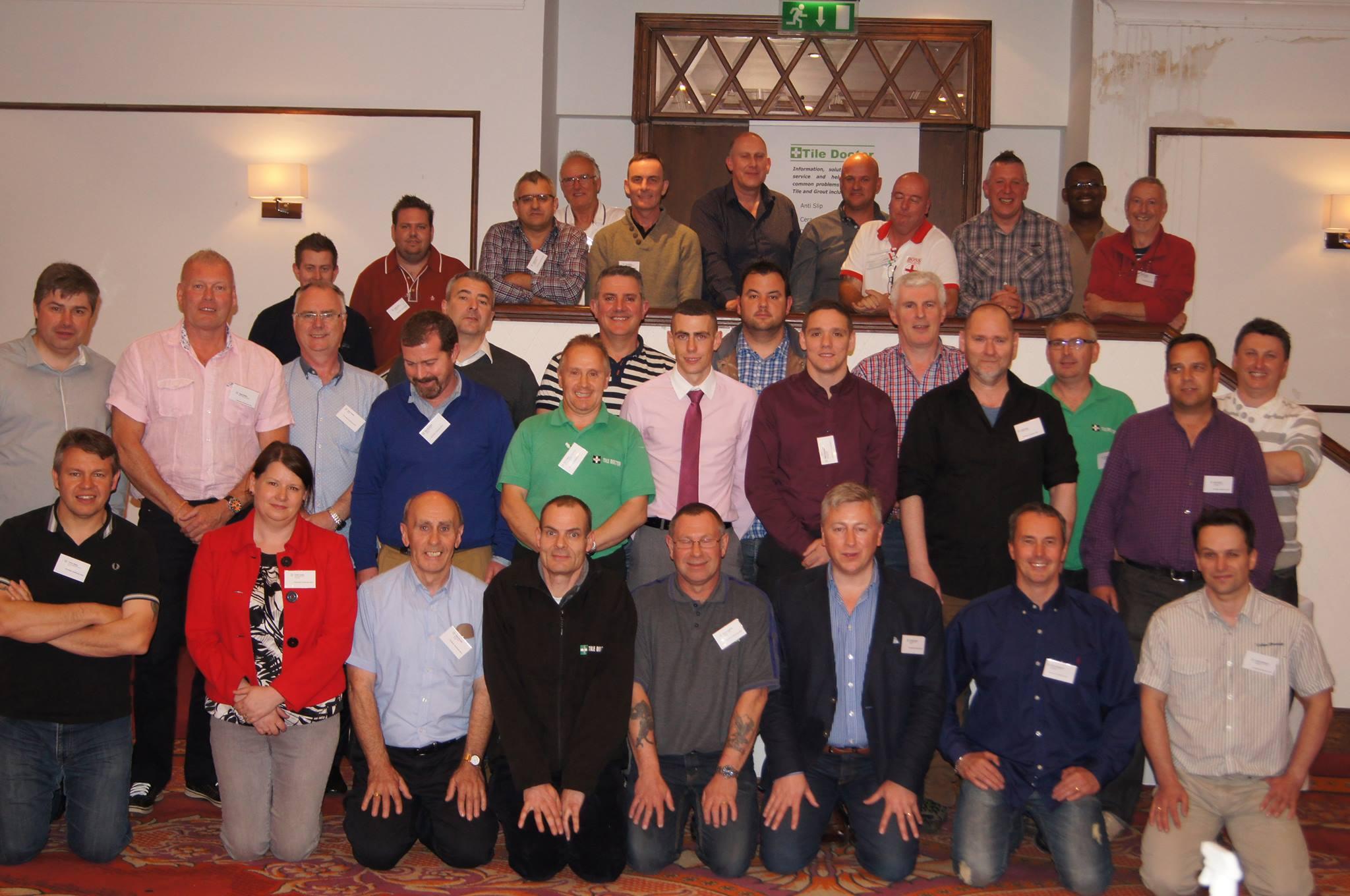 Tile Doctor Conference Delegates May 2014