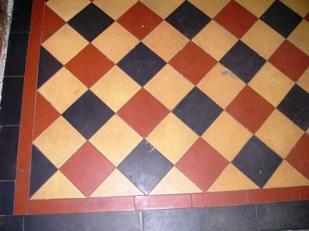 Victorian Floor - Before Cleaning