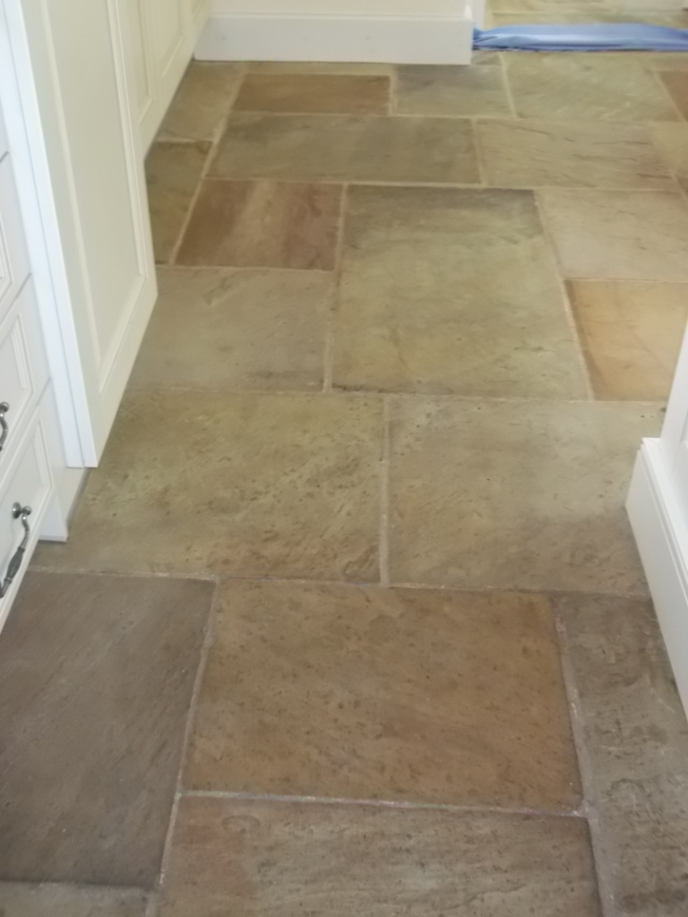 Sandstone Tile Cleaning in Beyton | Suffolk Tile Doctor