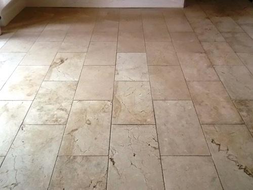 Marble Tiled Hallway In Woodbridge Suffolk Suffolk Tile