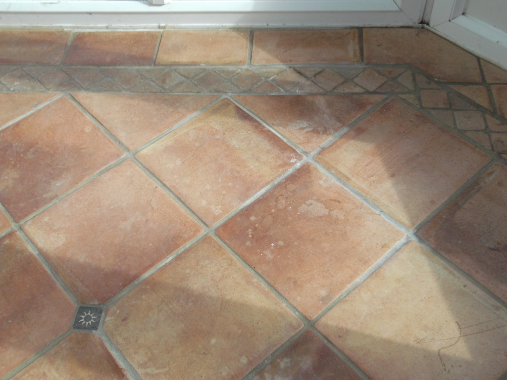 Terracotta Tile in Cringleford before