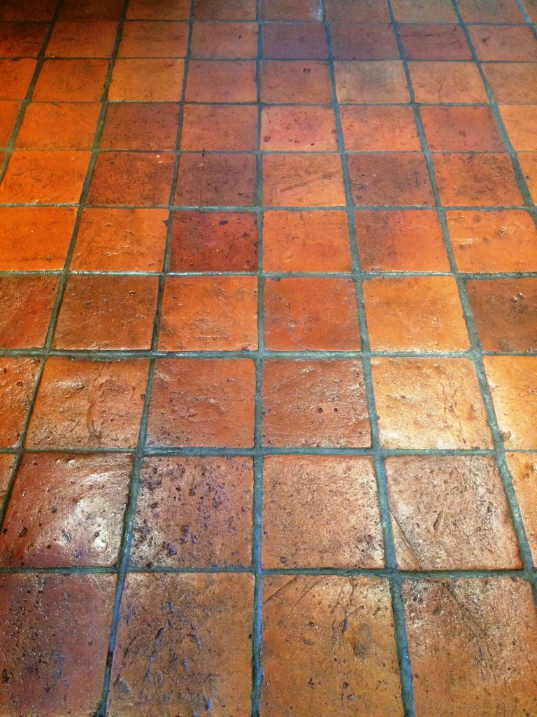 Pamment Tiled floor Ipswich After Cleaning