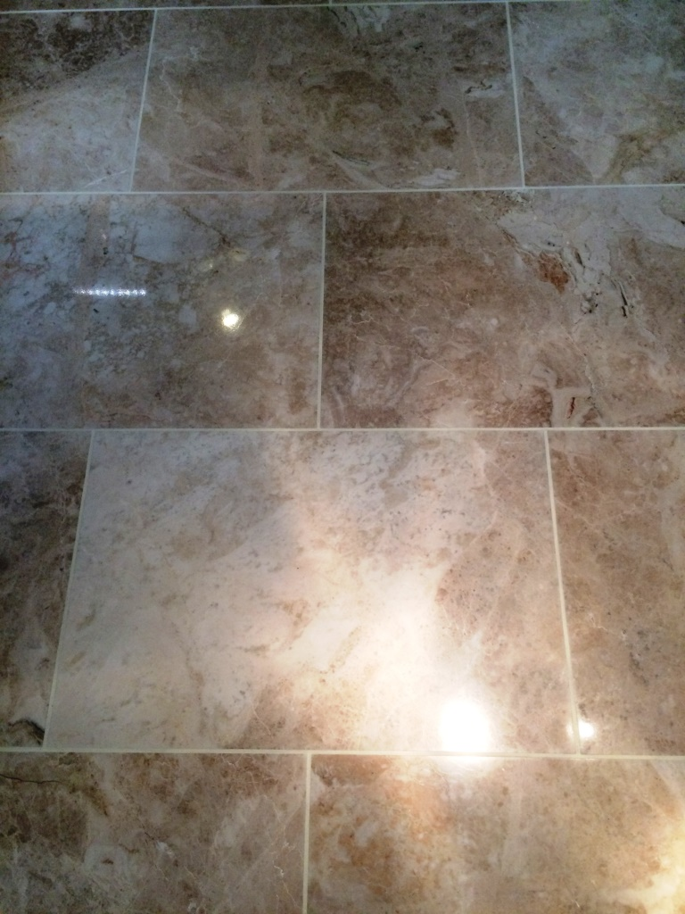 Marble posts stone cleaning and polishing tips for marble floors polished marble floor elmswell after cleaning doublecrazyfo Image collections