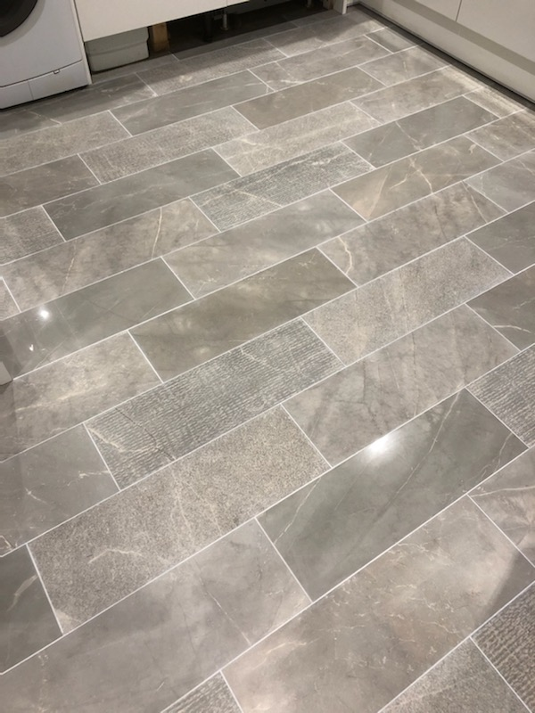Porcelain Tile Grout After Renovation Ipswich