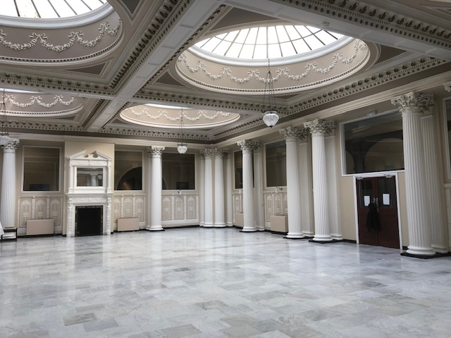 Marble Floor After Restoration Palm Court Harvest House Felixstowe