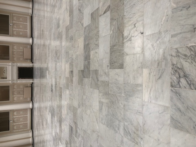 Marble Floor After Sealing Palm Court Harvest House Felixstowe